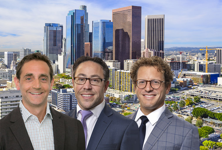 Meridian Capital Group's West Coast Team (left to right): Seth Grossman, Kovi Elkus, Jason Kahn