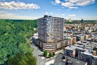 A rendering of 4650 Broadway.