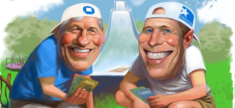 Jamie Dimon and Barry Sternlicht are top lenders' biggest fans.
