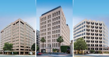 From left to right: 155 North Lake Avenue, 790 East Colorado Boulevard and 35 North Lake Avenue.
