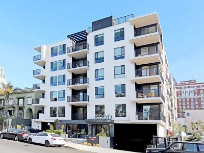 The 60-unit, newly-built complex called The Kodo at 2867 Sunset Place.