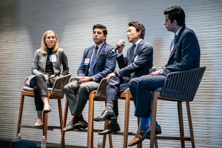 From left: Robin Potts, Eric Melendez, Nobu Hirabayashi and Corey Hall.