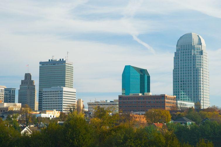 Downtown Winston-Salem, N.C.