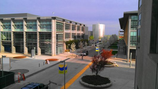 Buildings at the University of California, Merced.