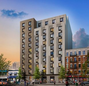 A rendering of 913 East Tremont Avenue.