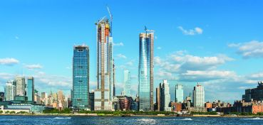 Hudson Yards became a defining project for the city's skyline and its construction industry.