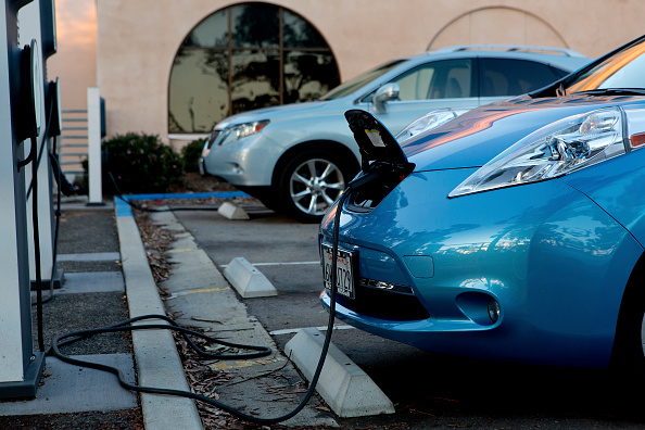 The Nissan Leaf EV charges up. Premier retail hubs in Los Angeles like Westfield Culver City, Beverly Center and The Grove have long been drawing more consumers since installing charging stations.