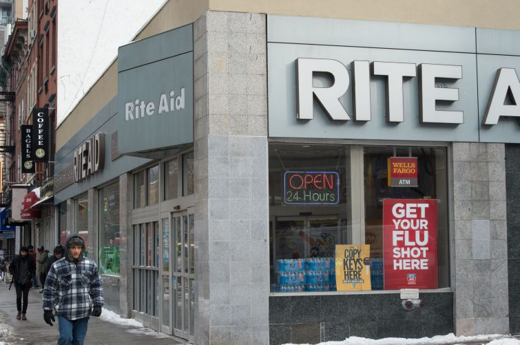 Rite Aid suffered some of the biggest losses of any NYC chain as many of its locations closed or were rebranded as Walgreens.