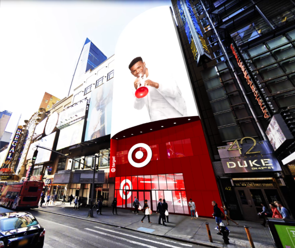 Target's planned Times Square store.