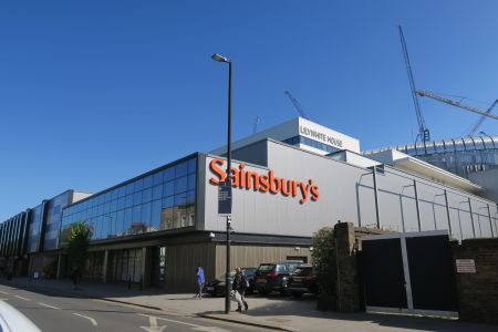 A Sainsbury's store in northern England.