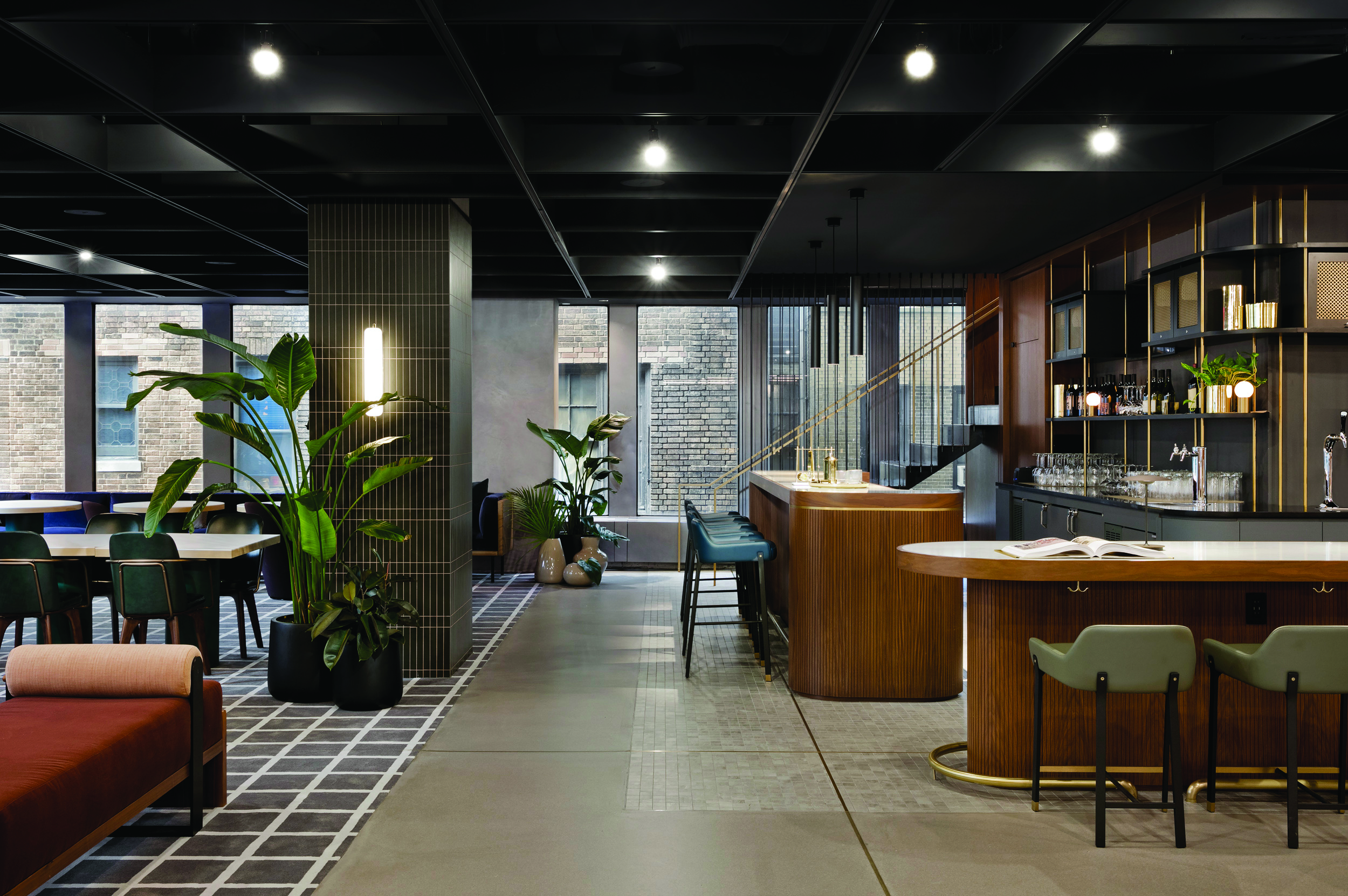 The Plan: A Mid-Century Modern Lounge at 1700 Broadway ...