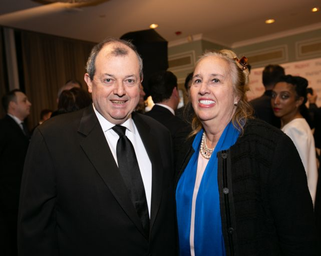 REBNY President James Whelan; Manhattan Borough President Gale Brewer.