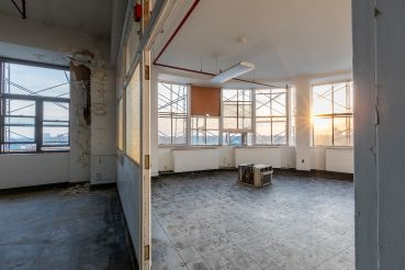 A vacant patient ward at 82-41 Parsons Boulevard.