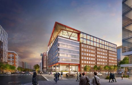 A rendering of the 80 M Street expansion.