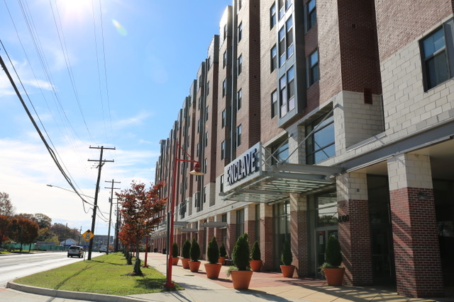 The Enclave at 8700 Baltimore Avenue in College Park, Md.