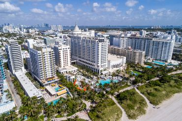 Miami Beach. Two of the six properties in this CMBS deal are located in Miami.