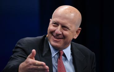 David Solomon, the Goldman Sachs CEO.