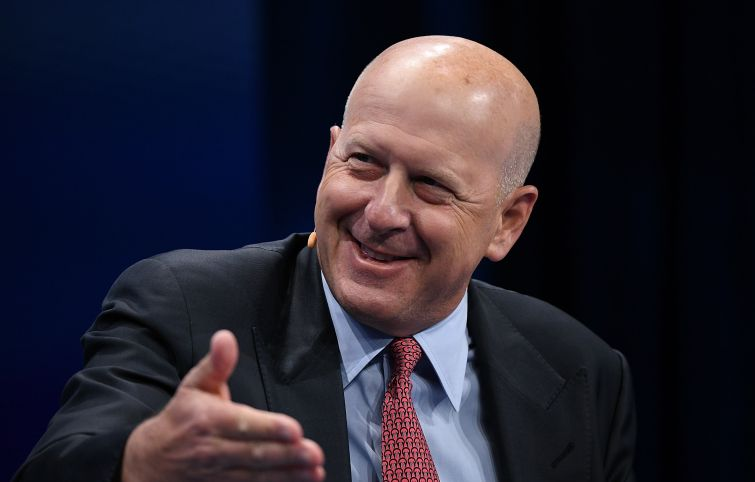 David Solomon, the Goldman Sachs CEO.