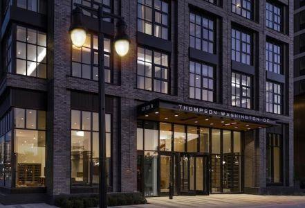 The newly opened Thompson Washington D.C. Hotel