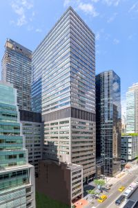 Cantor Fitzgerald has renewed at 110 East 59th Street (center) and 499 Park Avenue (right).