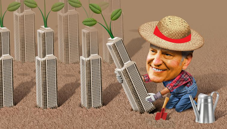 Bill De Blasio is laying new roots for environmentalism in New York City.