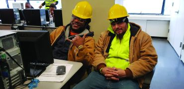 A big part of Building Skills NY's mission is training and placing minorities into NYC construction jobs.