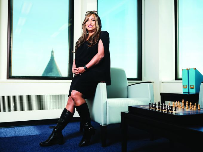 Lynne Patton, the U.S. Department of Housing and Urban Development's regional administrator for New York and New Jersey, in her offices in New York City.