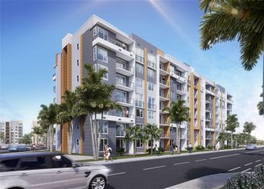 Rendering of the Center at Miami Gardens.