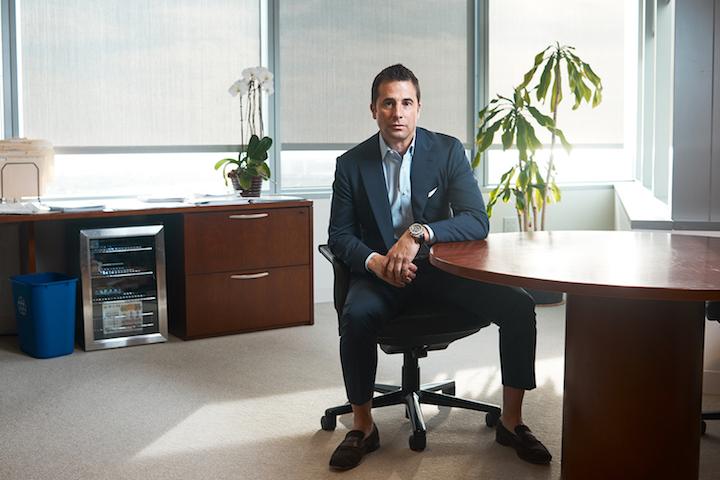 Cushman & Wakefield's Rob Rubano in his Los Angeles office.
