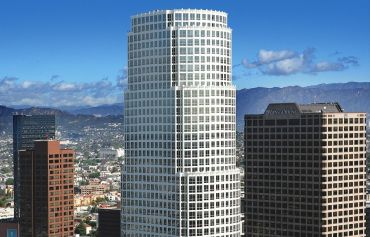 The 1-million-square-foot tower at 777 South Figueroa Street climbs 52 stories.