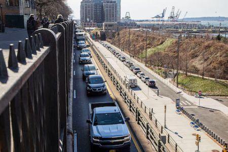 BQE, Brooklyn Heights promenade