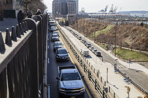 BQE, Brooklyn Heights promenade