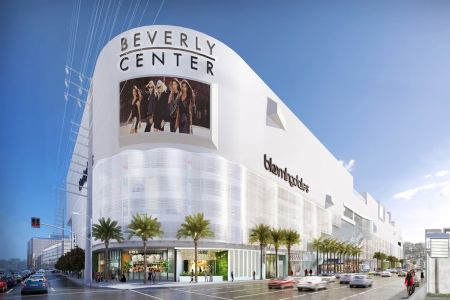 The Beverly Center in Los Angeles is one of Taubman's premier mall locations.