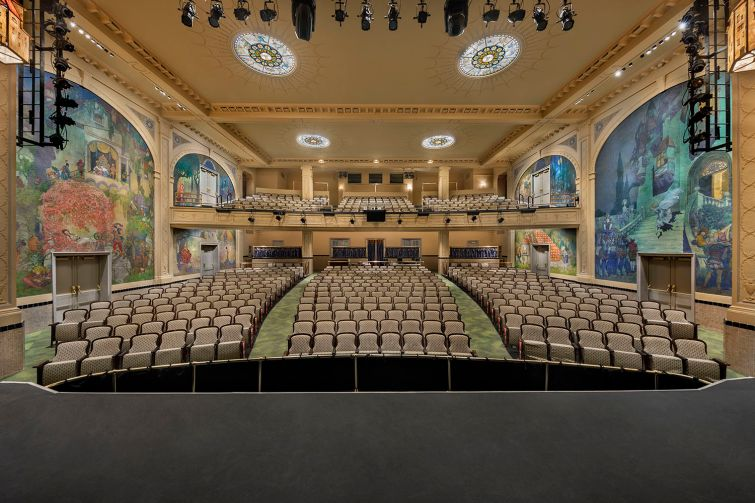 Katz Architecture brought in restorers to revamp this 1920s children's theater for El Museo del Barrio.