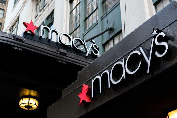 Macy's flagship location.