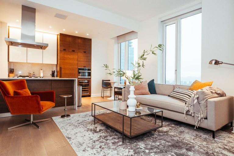 A Landing apartment