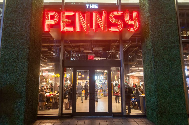 The Pennsy Food Hall.