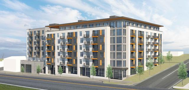 A rendering of The Hailey at 1210 Tacoma Avenue South in Tacoma.