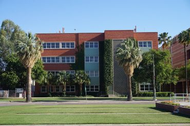 Buildings at the University of Arizona.