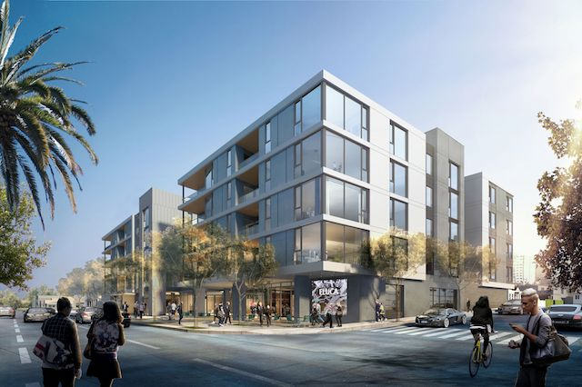 The project at 9001 Santa Monica Boulevard will feature a fitness center, a pool deck, and ground floor space for retail and restaurants.