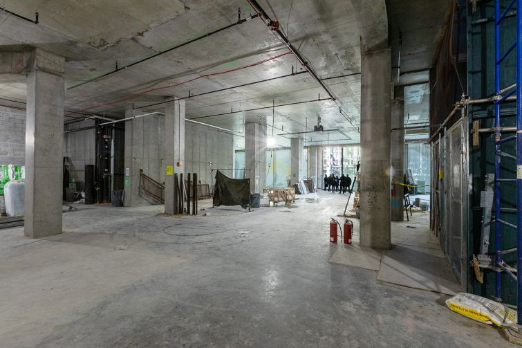 Brokers hope to rent the second, third and fourth floors of the building to a single office tenant who wants a private lobby and elevator, along with the potential to put signage on the front of the building.