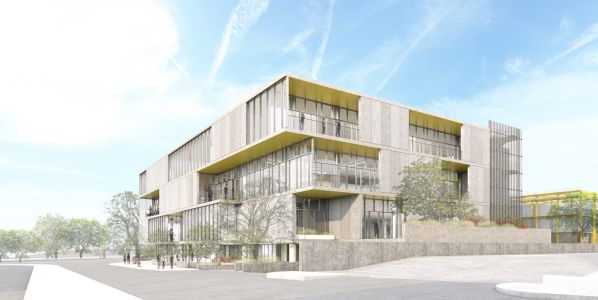 Urban Offerings and Meridian Group are developing a 74,055-square-foot creative office building at 5950 Jefferson Boulevard.