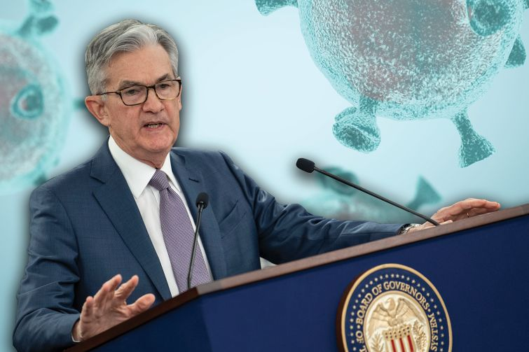 Federal Reserve chair Jerome Powell.
