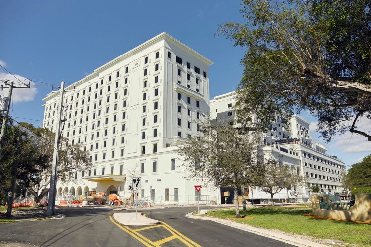 Nolan Reynolds International's Paseo de la Riviera project is a $225 million mixed-use development under construction situated across from the University of Miami campus. Part hotel and part apartment building, the project is the first of its kind in the area.