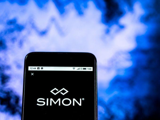 Simon Property Group Real estate company logo seen displayed