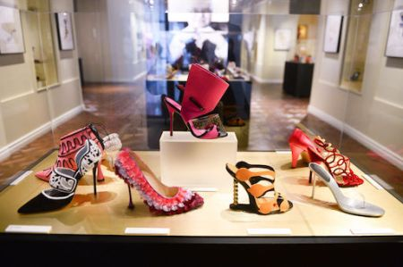 Manolo Blahnik shoe exhibition.