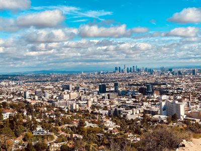 Average rent in L.A. reached $2,524 in February.