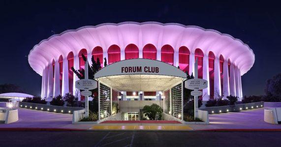 The Forum in Inglewood.