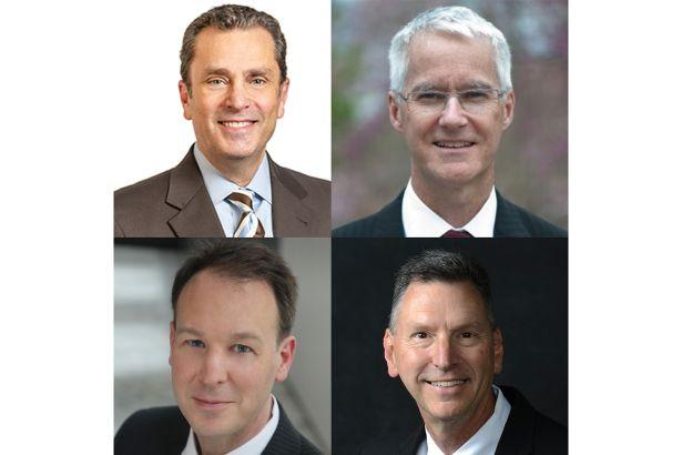 From left: Grassi's Robert Brewer; Princeton University's Sean Joyner; Sciame Construction's Joseph Mizzi and DASNY's Paul Koopman.