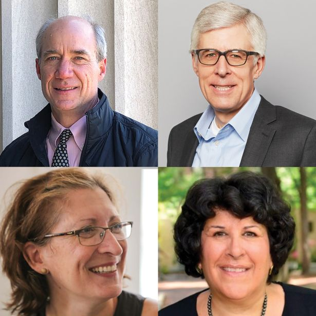 From left: MIT's William Colehower; Jaros, Baum & Bolles' Scott Frank; The New School's Jo Goldberger and University of Pennslyvania's Anna Papageorge.